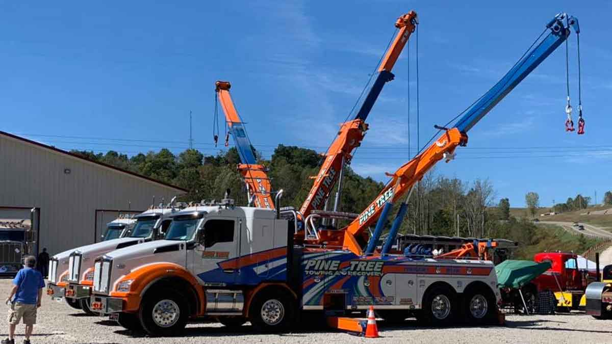 Heavy Towing Service Southeast Ohio