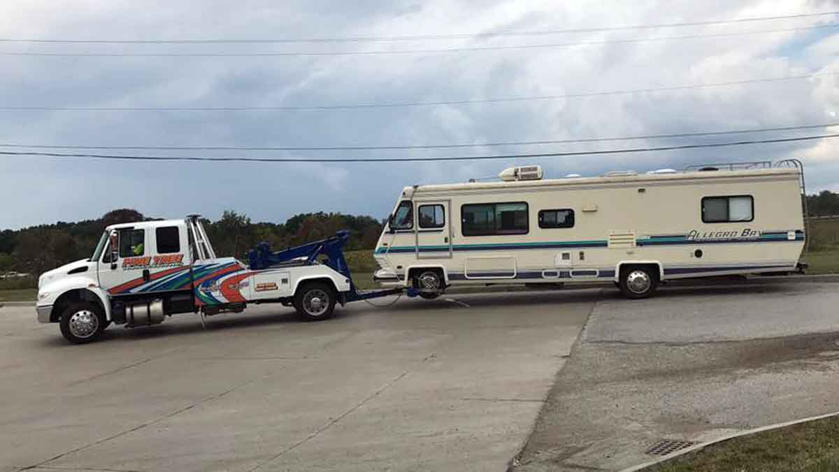 RV Towing Southeast Ohio